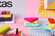 Give Your Bathroom a Fresh & Unique Twist w/ Bright KAS Designer Towels from the KAS Collection! Plus Shop Toiletry & Cosmetic Bags