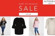 Autograph Fans Don't Miss the End of Season Sale Online Now! Shop the Chevron Quilted Vest, Faux Fur Biker Jacket, Bell Sleeve Melton Coat & More