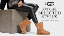 Get as Snug as a Bug w/ Ugg! Shop 30% Off Selected Ugg Styles - Think Classic Short Boots, Ascot Leather Slippers, Classic Mini Boots & More