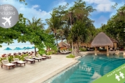 BALI w/ FLIGHTS Discover the Relaxation of Bali w/ a 7-Night Stay at 5* Novotel Bali Benoa Hotel! Ft. Brekkie, Dinner, Massage, Late Checkout & More