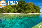 P&O CRUISE, SOLOMON ISLD Relax in Some of the World's Most Pristine Waters w/ a 10-Night Cruise + a 2-Night Stay in Cairns! All Meals Onboard & More