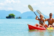 THAILAND w/ FLIGHTS 4-Night Island Escape at Paradise Koh and 6 Nights at Andakira Hotel! Incl. Massages, Yoga, Kayak Tour, Select Meals & More