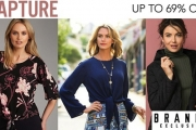 Capture their Attention with Stylish Capture Women's Apparel! Enjoy Up to 69% Off Jackets, Blouses, Footwear, Knitwear, Denim & More From $9