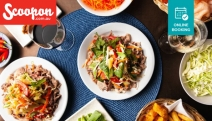Got a Big Appetite? Be Treated to an All-You-Can-Eat Mongolian BBQ w/ Drinks at Taringa's Sizzling Mongolian BBQ! Enjoy w/ a Friend or Opt to Bring the Whole Family