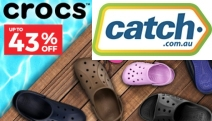 Enjoy All Day Comfort with Up to 43% Off Crocs Footwear! Shop a Range of Funky Styles for the Whole Fam Incl. Sandals, Clogs, Skimmer & More
