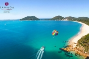 PORT STEPHENS Escape the Bustle of the City w/ a 2-3 Nights Getaway at Ramada Resort Shoal Bay! Ft. Beachfront Apartment, Wine & Bike Hire