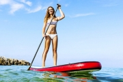 Enjoy the Warm Weather w/ a 60-Min Stand-Up Paddleboard Rental in Sandgate. Upgrade for Lessons in Stand-Up Pandleboarding, Windsurfing & Kitesurfing