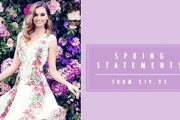 Make a Spring Statement w/ the Stylish Sensations of the Printed Perfection Sale! Ft. Vibrant & Eye-Catching Designs. Dresses, Tops & More. Plus P&H