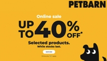 For the Latest Pet Essentials, Shop the Petbarn Online Sale with Up to 40% Off Selected Products! Incl. Reduced Dog Treats, Cat Food, Oral Care & More