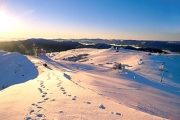 MOUNT BULLER Make the Most of Victoria's Magic Winter Snow w/ a 2-Night Stay at Duck Inn! Incl. Brekkie, Ski & Clothing Hire, Ski Lift Shuttle & More