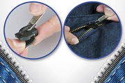 Broken Zipper Ruined Your Fave Clothing? Make it New Again w/ a Pack of 6 Zipper Fixers! Removable & Reusable. Works on Clothes, Bags, Tents & More