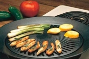 Don't Let the Winter Weather Ruin Your BBQ w/ a Smokeless, Non-Stick Stove Top BBQ Grill! Made of Iron, Perfect for Gas, Electric & Convection Stoves