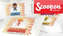 Make Your Child's Bedtime Extra Special w/ a Personalised Pillowcase from Personalised Gifts Market! Choose from 4 Cool Designs with Your Child's Name