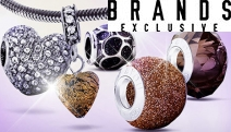 Express Yourself w/ Interchangeable Bead Jewellery from Byou! Create Unique One-of-a-Kind Pieces, Feat. High Quality Italian Glasswork. Plus P&H