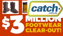 Bag a Bargain w/ the $3 Million Footwear Clearance! Shop Men's & Women's Shoes Incl. Timberland, Ugg, Converse, Havaianas, Hush Puppies & More