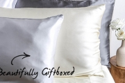 Sleep Like Royalty w/ a Luxurious Mulberry Silk Pillowcase! Hypoallergenic & Breathable, Helps to Reduce Signs of Ageing & Reduce Hair Damage