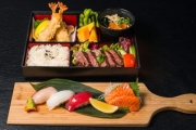 Head to Syd's Trendy Dining District & Tuck into a Signature Bento Set w/ Beer & Ice Cream at Umi Sushi Darling Quarter! Wagyu Beef, Teriyaki Salmon + More