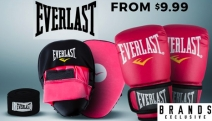 Embrace Your Inner Boxing Champ w/ this Range of Everlast Boxing Gear! Shop Glove & Mitt Combo Sets, Jumping Ropes, Classic Hand Wraps & More