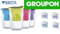 Enjoy Clean Filtered Water w/ a Brita Fill 1.5L Water Filter Jug & 3 Maxtra Filters for 8 Months of Filtered Water! Fits Most Fridge Doors, 4 Colours