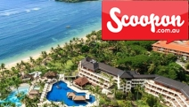 5* BALI 8 or 10-Nights at the 5-Star Nusa Dua Beach Hotel & Spa! Incl. Breakfast Daily, Lunch or Dinner Daily, Massages, Transfers & More