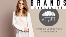 You Can Relax w/ Comfy, Stylish & Eco-Friendly Bamboo Loungewear & Lingerie from Witjuti! Anti-Bacterial, Hypo Allergenic & Breathable. Plus P&H