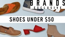 Shop without the Guilt w/ the Footwear Under $50 Sale for Ladies & Kids! Shop the Belair Vybe Women's Sneaker, Harry 8Mile Boys High Top & More