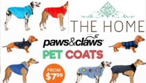 Keep Your Pooch Warm During the Winter Months w/ Paws & Claws Dog Coats! Shop Harness Jackets, Puffer Jackets & More in a Range of Designs & Sizes