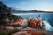 TASMANIA Unforgettable 4D Guided Trek of Iconic Bay of Fires! Visit Mt. William National Park, Anson's Bay & More w/ All Meals & Farmhouse-Style Accom