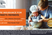 Secure the Financial Future of Your Family w/ Award-Winning Life Insurance from NobleOak. Receive Your First Month Free, Plus a 17% Lifetime Discount!