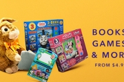 Enhance Your Child's Development through Play Time w/ the Kidding Around Sale, Ft. a Wide Array of Books, Colouring Books, Games, Puzzles & More