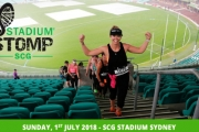 Get Your Pulse Racing w/ the Epic Stadium Stomp 6300 Stair Challenge! Climb Your Way Up, Down & Around the Bays. Sydney Cricket Ground, 1 July