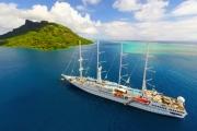 TAHITI w/ FLIGHTS 7N Intimate Cruise to Picture Perfect Tahiti w/ All Meals! Incl. 1N Pre-Cruise Stay at Tahiti Pearl Beach Resort & Spa, Flights & More