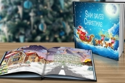Put Your Child in the Story w/ a Personalised Christmas Story Book. Choose from Six Christmas-Themed Titles. Available in Soft or Hard Cover