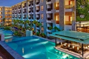 BALI Escape to the Courtyard by Marriott Seminyak w/ 5 Nights for Two! Deluxe Pool View Room Incl. Cocktails, Spa Treatments, Dining & More