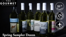 Raise Your Glass w/ the Super Spring Sampler Whites Dozen! Incl. a Selection of SA Wine Incl. Yellow Tail, Sky Heights & More at Less than $6 a Bottle!