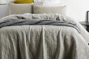 Snuggle Down into Nature's Comfiest Fibre with the Linen Bedlinen Sale! Shop Quilt Cover & Sheet Sets in a Unique Vintage Washed Texture