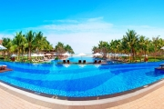 VIETNAM Beachfront 5* Luxury w/ 5 Nights at Vinpearl Da Nang Resort & Villas! Ft. Two Daily Meals, Five Pools, Late Checkout, Daily Cocktail & More