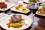 Head to Potts Point & Treat Your Tastebuds to an Elegant Modern Australian 3-Course Dinner & Wine for 2! Pan Fried Haloumi, Atlantic Salmon & More