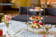 Enjoy a Charming Afternoon with a Gourmet High Tea with Sparkling Wine at Katers at Peppers Manor House! Enjoy Sweet & Savoury Treats for 2 or 4-Ppl