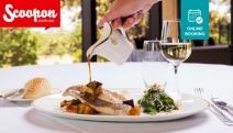 Dine in Elegance with a Sophisticated Lunch with Drinks for 2 at Strangers' Restaurant at NSW Parliament! Think Beef Tenderloin & Salsa Verde + More