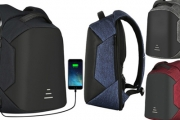 Travel Safe & Stress-Free w/ this Anti-Theft Laptop Backpack w/ USB Charging Port. Ft. Anti-Theft Zip Opening, Integrated USB Port & More. 4 Colours