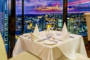 Take in Uninterrupted 360 Degree Views of Perth w/ Award-Winning Fine Dining at C Restaurant! Think House Made Gnocchi w/ Napolitana & More