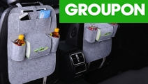 Enjoy Seamless Travel w/ the Car Seat Multi-Pocket Storage Bag! Ft. Heavy Duty Resiliency w/ Storage Areas for Kids' Toys, Bottles, Wipes & Lots More