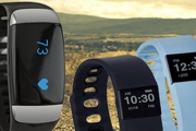 Achieve & Track Your Fitness Goals on the Go w/ These Sports Health Bracelets! Apple & Android Compatible. Monitor Steps, Distance & Calories