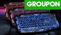 Game On! Take Your Gaming Experience to the Next Level w/ an LED Keyboard w/ Colourful Backlight. Ft. Shortcut Keys to Multi-Media Controls & More