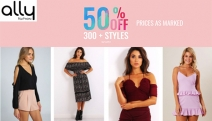 Elegant Doesn't Have to Mean Expensive! Shop Affordable, On-Trend Women's Apparel w/ the Ally Fashion 50% Off Sale! Dresses, Jumpsuits & More