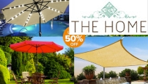 Enjoy the Great Outdoors & Stay Sun Smart w/ Outdoor Shades & Umbrellas for Any Occasion! Solar LED Patio Umbrellas, Pool Shades, Car Awnings & More