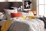 Sleep in Optimum Comfort w/ this Gorgeous Collection of Sheridan Reversible Quilt Cover Sets! Printed on Soft, 100% Cotton Sateen. Ft. Single-King
