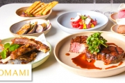 Prepare for a Great Night Out w/ a 7-Dish Dining Experience & Sparkling at MOMAMI Restaurant, in the 5* Peppers Docklands. Teriyaki Lamb Ribs & More