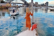 SYDNEY Overnight Harbour Yacht Stay for Four People w/ Sailaway Sydney! Ft. Cabins, Yacht Deck & More. Pickup & Drop Off at Lavender Bay Wharf